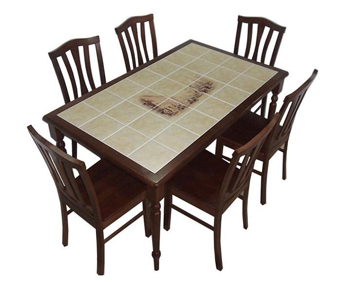 Столы с керамической плиткой фото